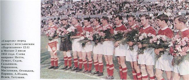 Спартак (Москва) - 1955
