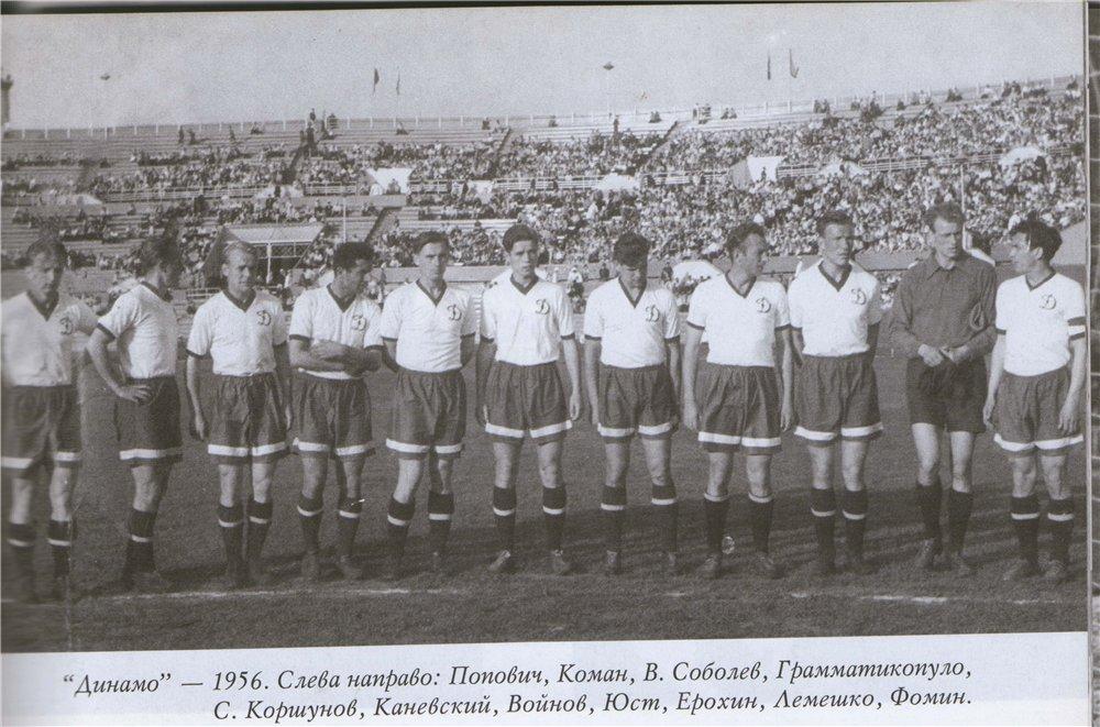 Динамо (Киев) - 1956