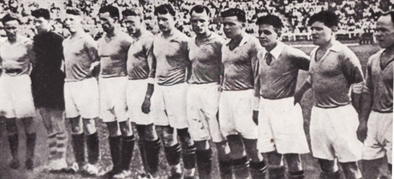 1936 год (весна) команда «Динамо» (Киев) - второе место
