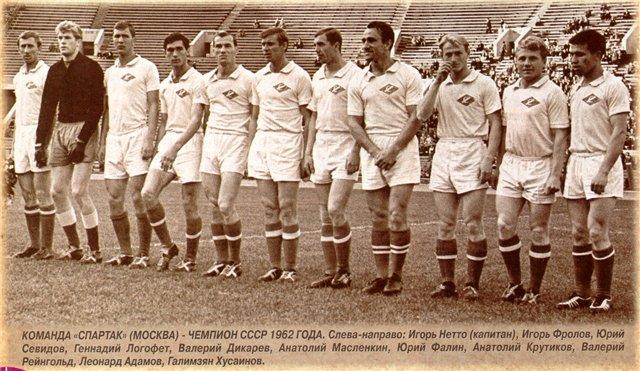 Спартак (Москва) - 1962