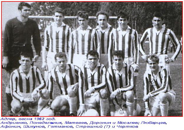 СКА (Ростов-на-Дону) - 1962