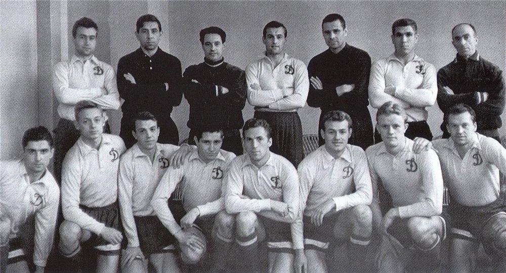 Динамо (Москва) - 1963 год чемпион СССР