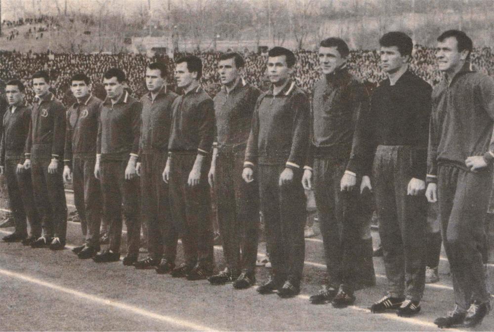 Динамо (Киев) - 1965. Нажмите, чтобы посмотреть истинный размер рисунка
