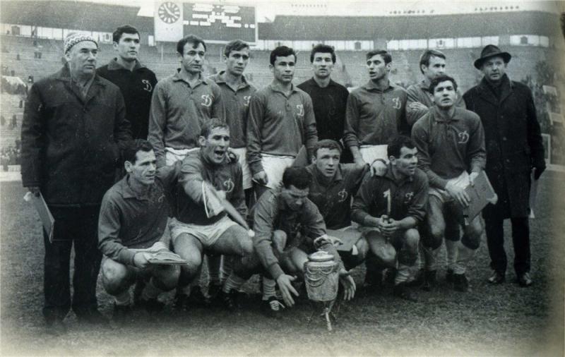 Динамо (Киев) - 1966. Нажмите, чтобы посмотреть истинный размер рисунка