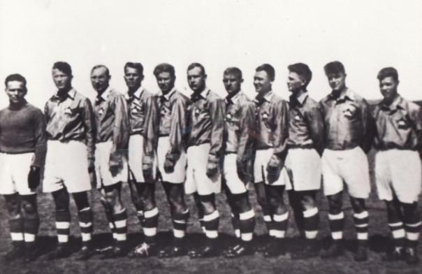 1936 год (весна) команда ЦДКА (Москва) - четвертое место (снимок 1935-го года)