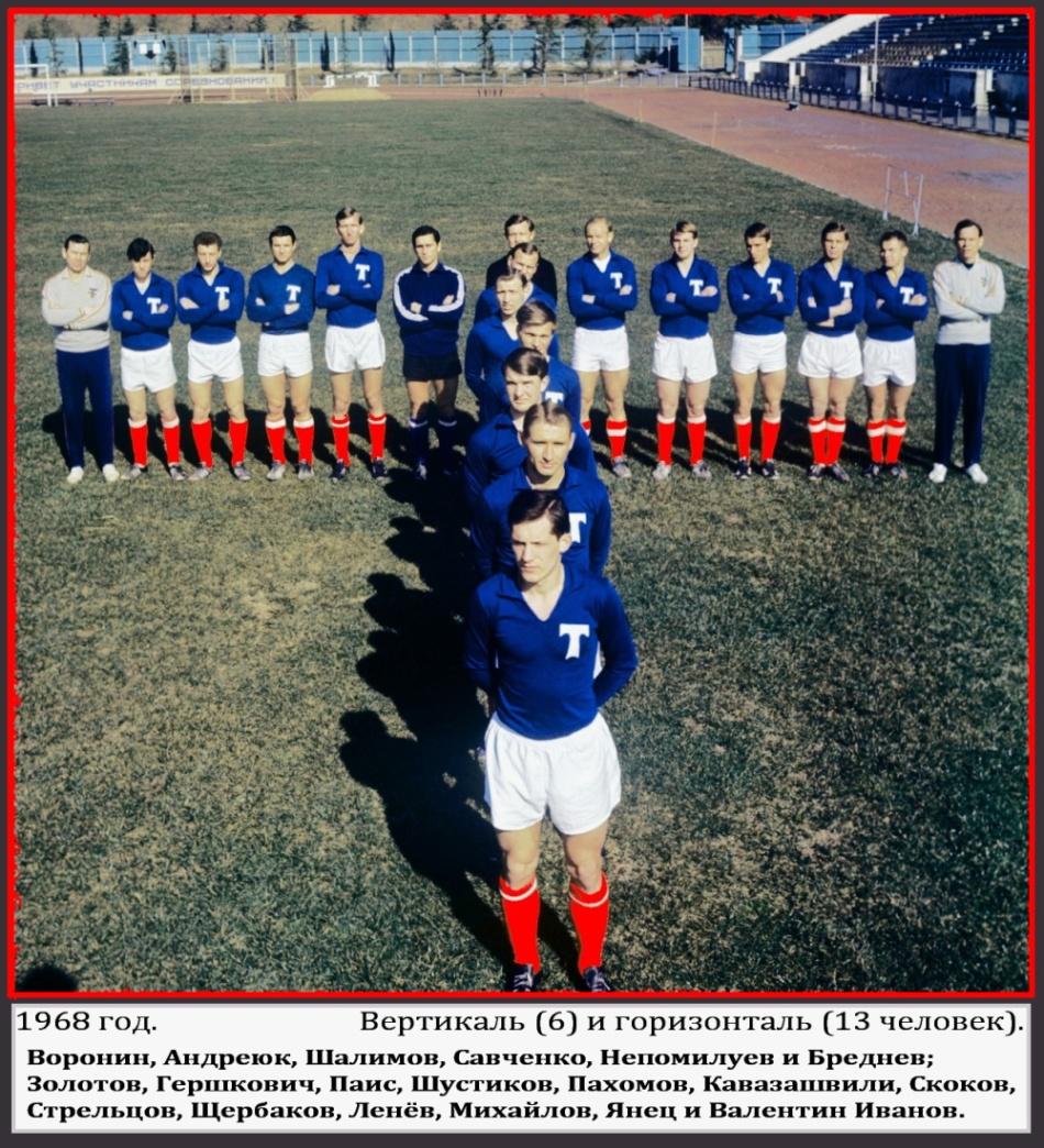 Торпедо (Москва) - 1968