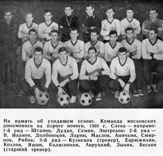 Динамо (Москва) - 1968