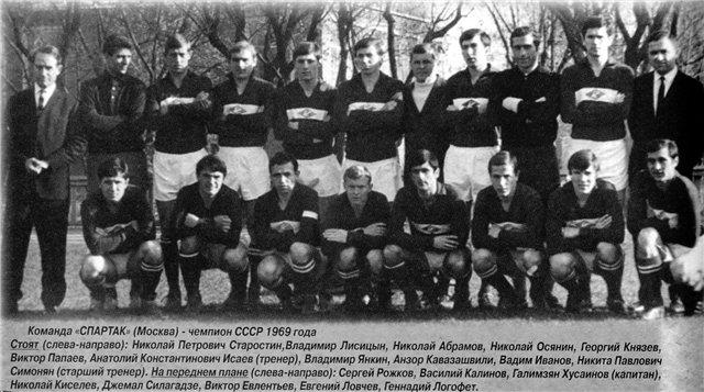 Спартак (Москва) - 1969