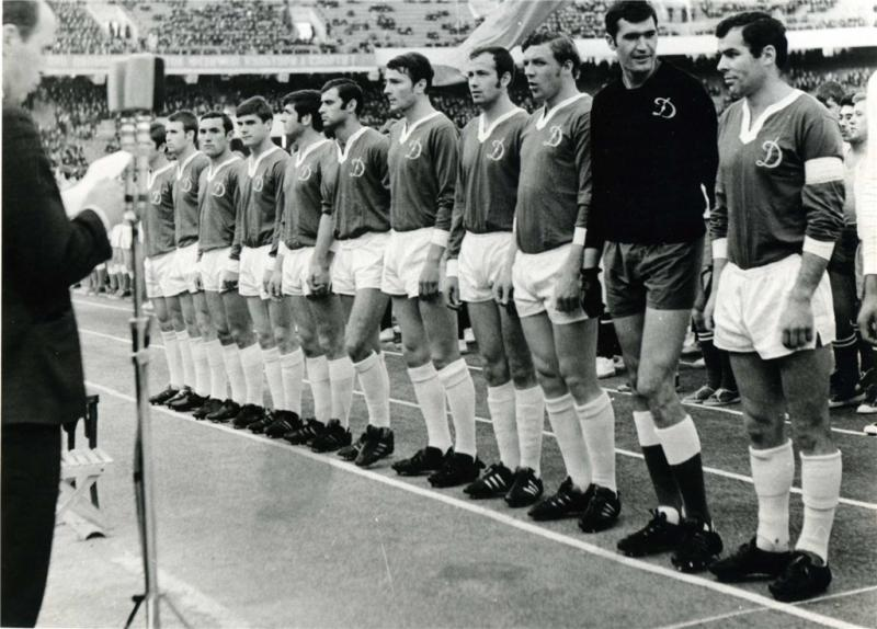 Динамо (Киев) - 1969. Нажмите, чтобы посмотреть истинный размер рисунка