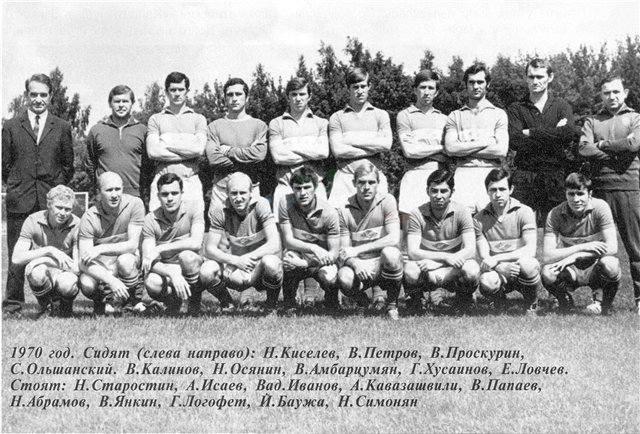 Спартак (Москва) - 1970