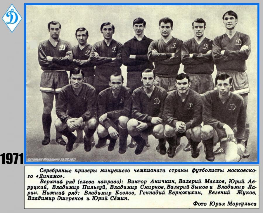 Динамо (Москва) - 1971