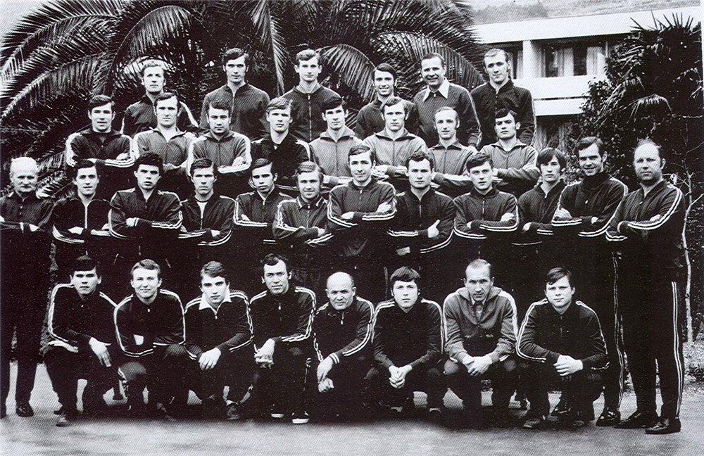 Динамо (Москва) - 1973 предсезонка