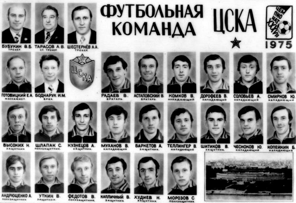 ЦСКА (Москва) - 1975