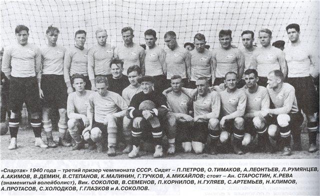 Спартак (Москва) - 1940