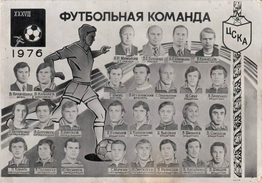 ЦСКА (Москва) - 1976 в