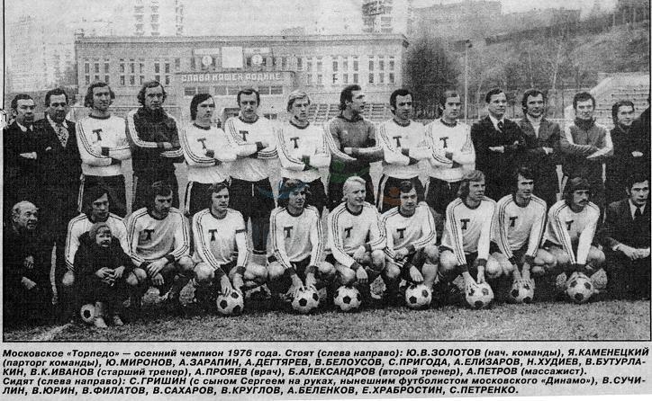 Торпедо (Москва) - 1976 о