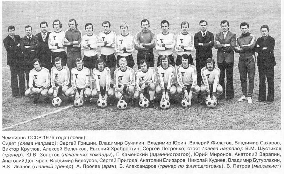 Торпедо (Москва) - 1976 осень