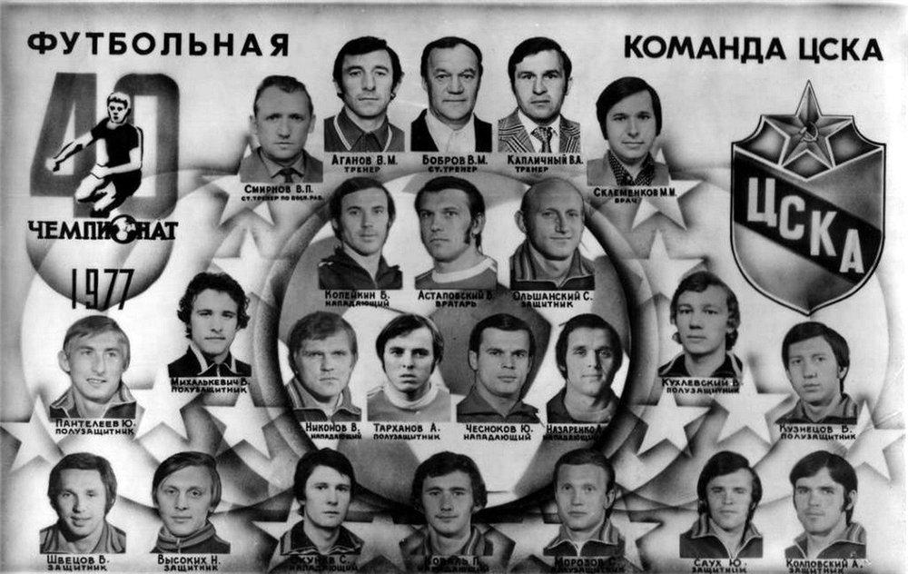 ЦСКА (Москва) - 1977
