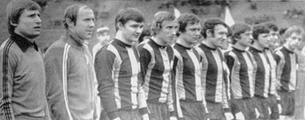 Шахтёр (Донецк) - 1978. Нажмите, чтобы посмотреть истинный размер рисунка