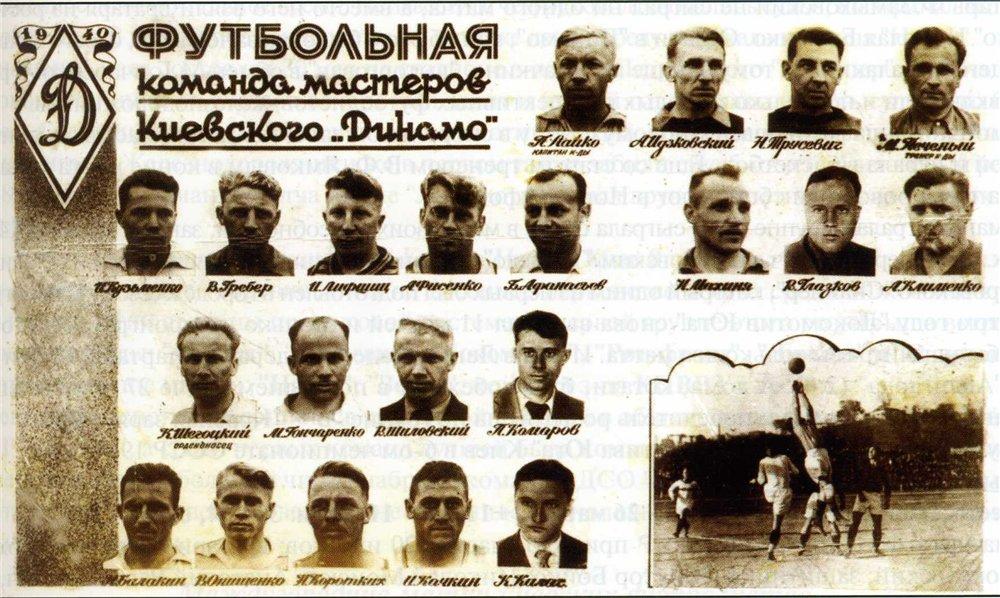 Динамо (Киев) - 1940