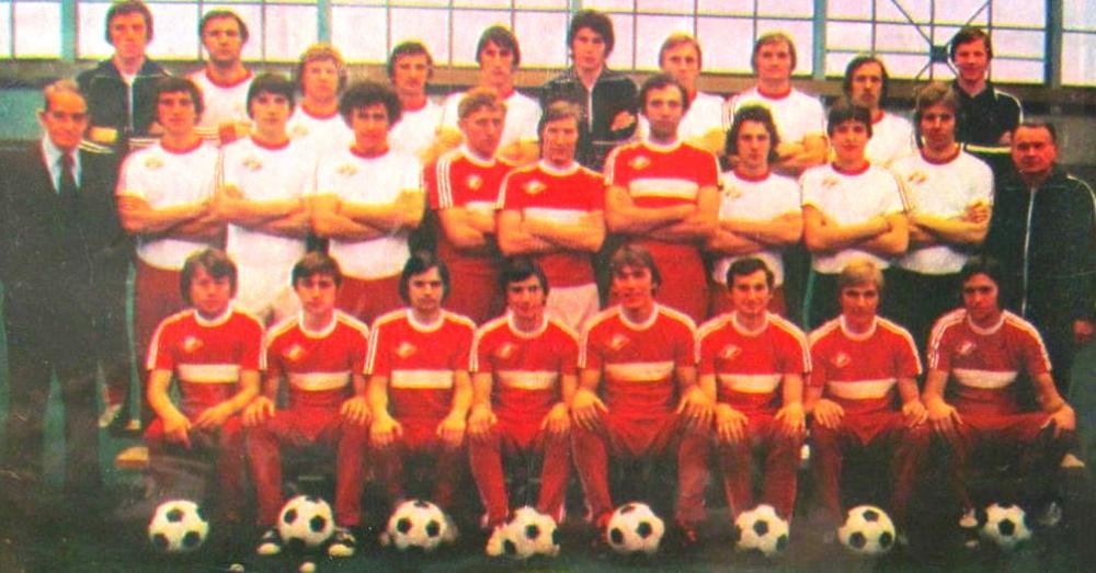 Спартак (Москва) - 1980. Нажмите, чтобы посмотреть истинный размер рисунка