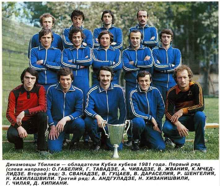 Динамо (Тбилиси) - 1981