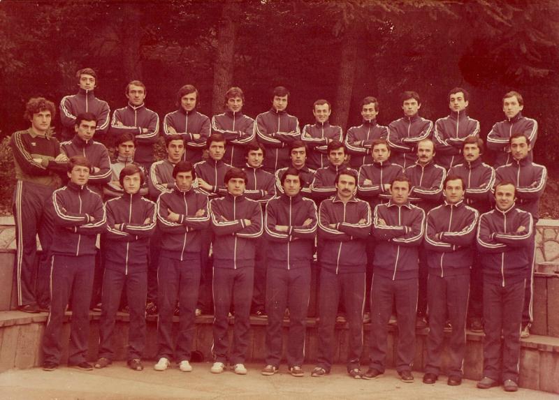 Динамо (Тбилиси) - 1984. Нажмите, чтобы посмотреть истинный размер рисунка