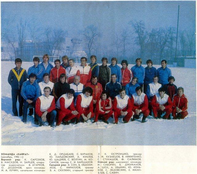 Кайрат (Алма-ата) - 1984