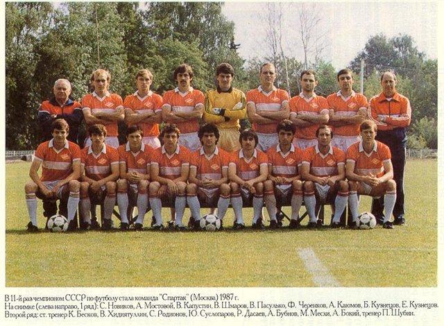 Спартак (Москва) - 1987
