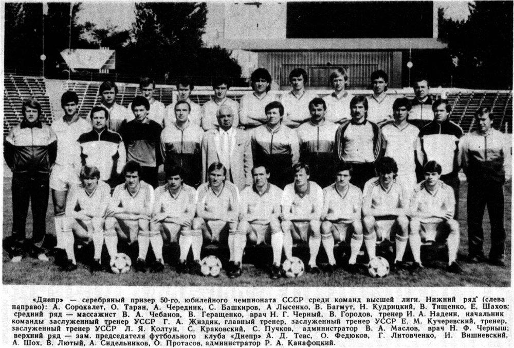Днепр (Днепропетровск) - 1987