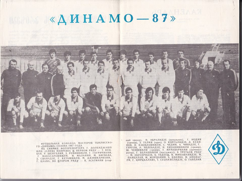 Динамо (Тбилиси) - 1987