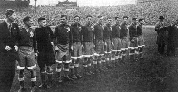 Динамо (Москва) - 1945. Англия. Челси