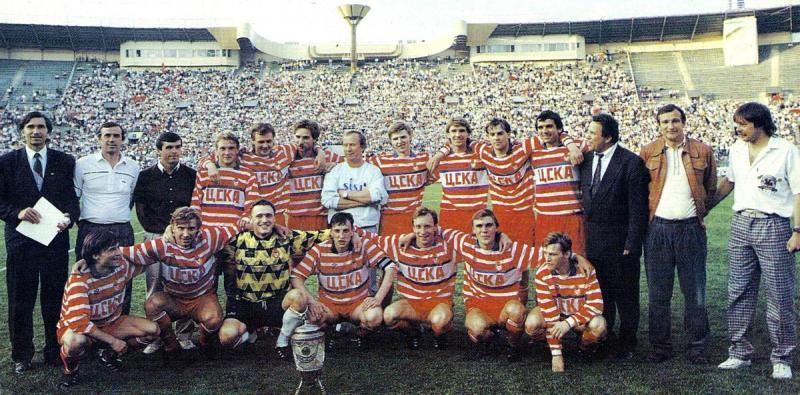 ЦСКА (Москва) - 1991. Нажмите, чтобы посмотреть истинный размер рисунка