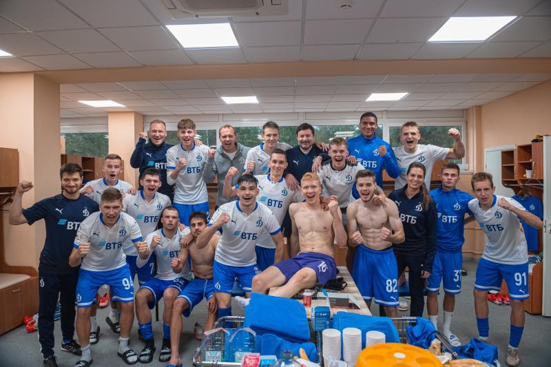 Динамо-2 - Торпедо (Вл) 2:0. Нажмите, чтобы посмотреть истинный размер рисунка